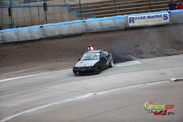 Josh Phillips in the diesel E36 on clip one
