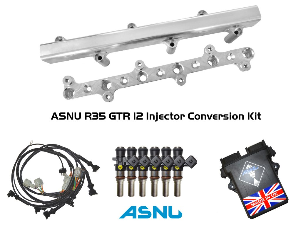 ASNU R35 GTR 12 injector conversion kit